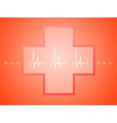 Medical background vector
