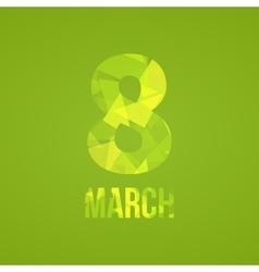 International Happy Women s Day concept vector image