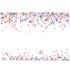 abstract background with flying red blue silver vector image vector image