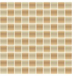 checkered tile vector image vector image
