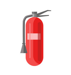 Fire extinguisher portable device that discharges vector