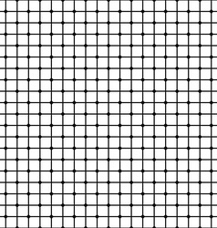 Seamless monochrome mesh pattern vector