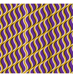 Optical seamless pattern purple hooks move on vector