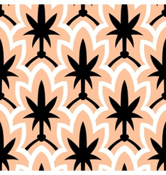 Hand drawn art deco pattern vector