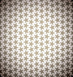 Brown star background vector