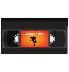 Summer hits vector