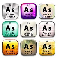 Arsenic vector