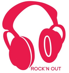 Rock n out vector