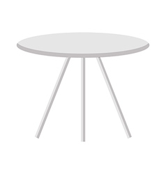 A table is placed vector image
