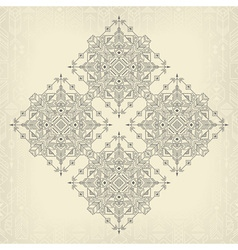 Vintage tribal background vector
