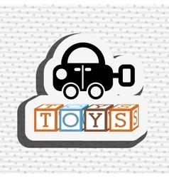 toys kids design vector image