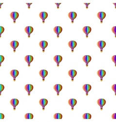 Balloon pattern cartoon style vector image