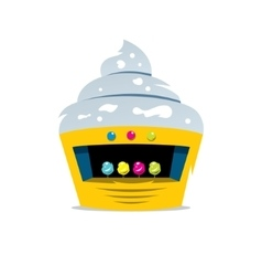 Ice Cream Shop Cartoon vector image