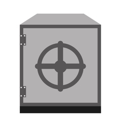 Safe box isolated icon design vector