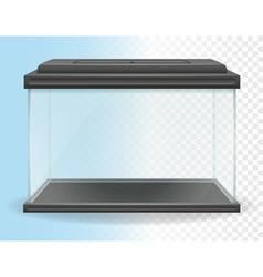 transparent aquarium 01 vector image
