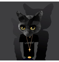 Cute fashion Hipster Animal vector image