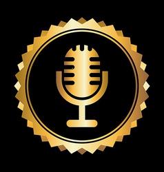 Microphone design vector