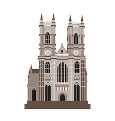 Catholic Cathedral vector image vector image