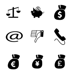 icons 7 vector image