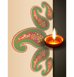 Indian diwali festival vector