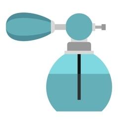 Retro perfume icon flat style vector