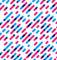 Seamless Pattern Overlap Diagonal Graphic Stripes vector image vector image
