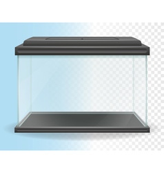 Transparent aquarium 01 vector