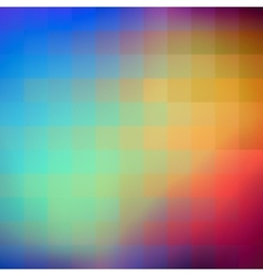 Abstract colorful background of squares vector