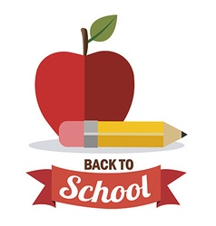 Back to school icons design vector image