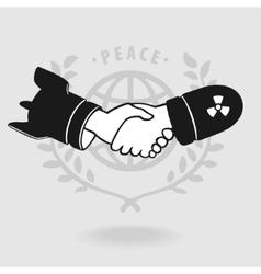 Symbol shaking truce vector