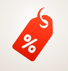 Price Tag with SALE vector image