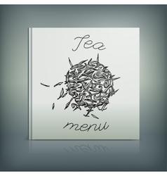 Tea Menu 08 A vector image vector image