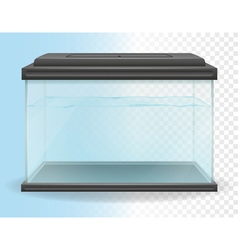 transparent aquarium 02 vector image