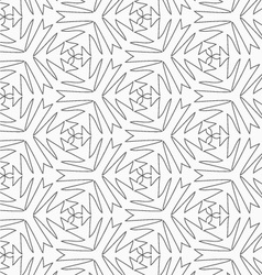 Gray pointy complex shapes vector