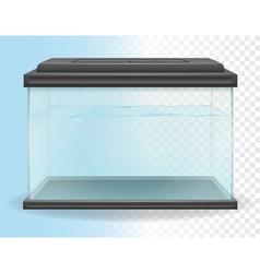 transparent aquarium 02 vector image vector image