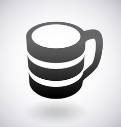 Coffee cup logo vector
