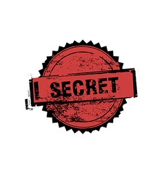 Secret stamp badges vector