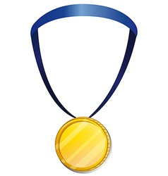 A medal vector image vector image
