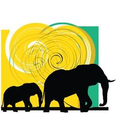 Elefant vector