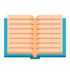 Open book vector