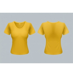 Woman t-shirt vector