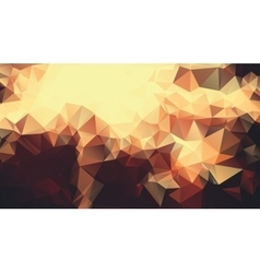 Abstract golden yellow background consisting of vector image vector image