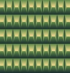 Green geometric pattern seamless vector