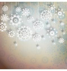 High definition snowflakes on beidge eps 10 vector