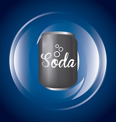 Soda design vector