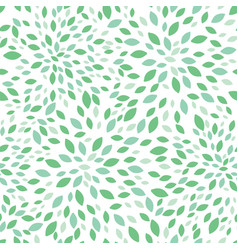 spring green leaves bursts seamless repeat vector image