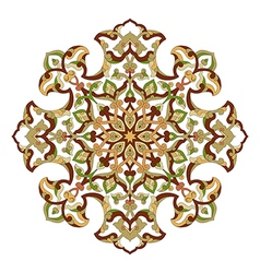 Artistic ottoman pattern series ninety three vector