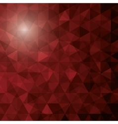 abstract polygon pattern icon vector image