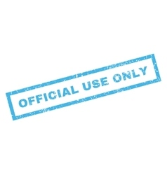 Official use only rubber stamp vector