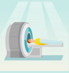 magnetic resonance imaging vector image